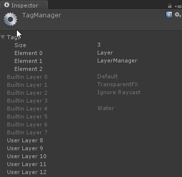 Built-in Layer Manager